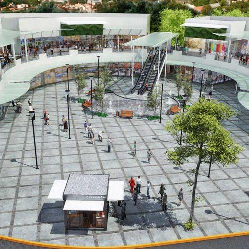 Galería 1 - Vista Aerea Plaza Comercial